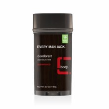 Every Man Jack Cedarwood Deodorant 3 oz