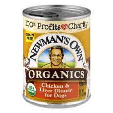 Newman's Own Chicken and Liver Dog Food