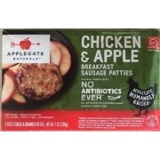 Applegale Chicken and Apple Sausage Patties 7 oz