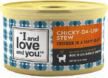 I Love You Chicky Da lish Stew for Cats 3 oz