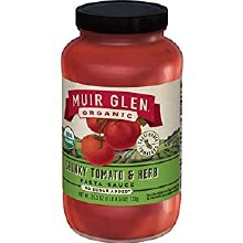 Muir Glen Chunky Tomato & Herb Pasta Sauce