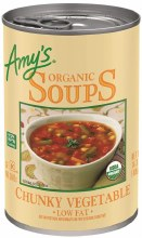 Amy's Low Fat Chunky Vegetable Soup