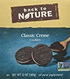 Back To Nature Classsic Creme Cookie