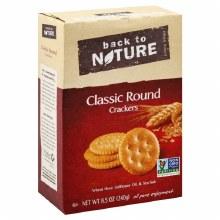 Back to Nature Classic Round Cracker
