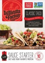 La Tortilla Factory Classic Taco Sauce 3 oz