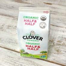Clover Organic Half & Half Pint