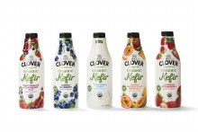 Clover Strawberry Kefir 32oz