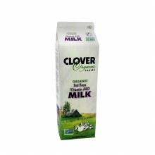Clover Organic Fat Free Milk Quart