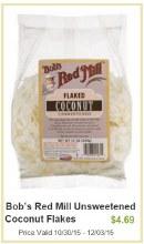 Bob's Red Mill Coconut Flakes 10 oz