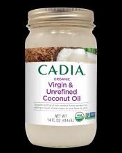 Cadia Organic Unrefined Virgin Coconut Oil 14 oz