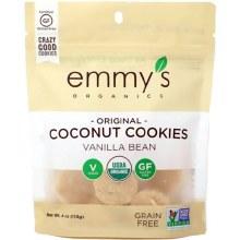 Emmy's Organic Coconut Vanilla Cookies