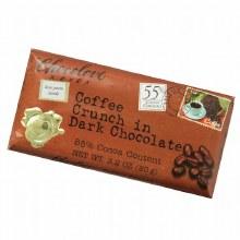 Coffee Crunch in dark chocolate, Chocolove xoxox 3.2 oz