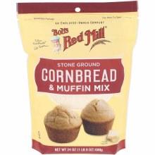 Bob's Red Mill Cornbread and Muffin Mix 24 oz