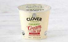 Clover Cream on Top Strawberry Yogurt 6 oz