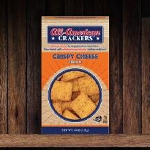 All-American Crispy Cheese Crackers 4 oz
