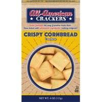 All-American Crispy Cornbread Crackers 4 oz