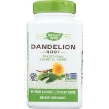 Dandelion Root 100 Cap Nature's Way