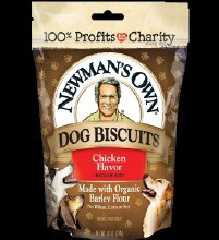 Newman's Own Chicken Flavored Dog Biscuits 10 oz