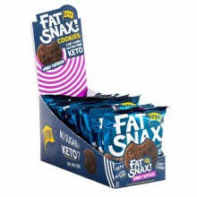 Fat Snax Soft Doulble Chocolate Cookies 2 pack 1.40 oz