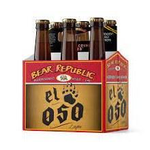 Bear Republic Brewing El Oso 6 pack