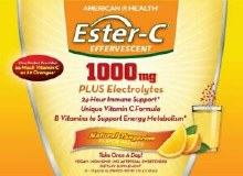 American Health Ester-C 1000 mg + Electrolytes 24 Hour Immune Support (21 packets)