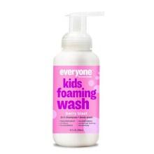 berry blast, everyone kids foaming wash 2 in 1 10oz