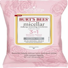 Burt's Bees Facial Cleansing Towelettes with White Tea Extract -10 count