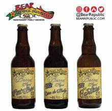 Bear Republic Fiat Brux Belgian Pale Ale 12.7 ounce single bottle