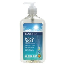 Ecos Free and Clear Hand Soap 17 oz
