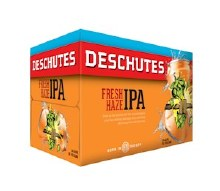 Deschutes Fresh Haze IPA six pack 12 ounce cans
