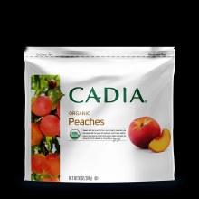Frozen peaches, Cadia 10oz