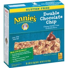Annie's Gluten Free Double Chocolate Chip Granola Bars 5pk