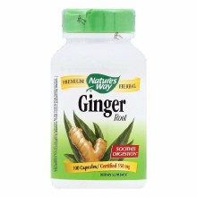 Ginger Root 100 Cap Nature's Way