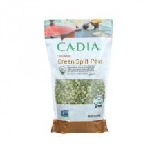 Cadia Organic Green Split Peas 16 oz