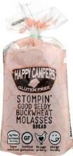 Happy Campers Gluten Free Buckwheat Molasses Bread