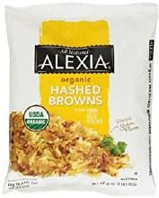 Alexia Organic Seasoned Hashed Browns 16 oz bag