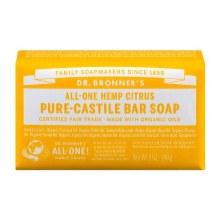Dr. Bronners Citrus Hemp Bar Soap 5 oz