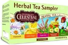 Celestial Seasonings Herbal Tea Sampler 18 tea bags