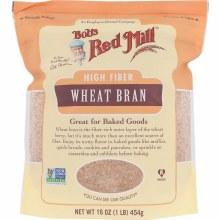 Bob's Red Mill  High Fiber Wheat Bran 8 oz