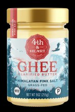 4th & Heart Himalayan Pink Salt Ghee 9 oz