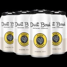 Dust Bowl Hobo Pilsner 6 pack 12 ounce cans