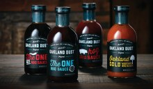 Oakland Dust Hog Sauce BBQ and Dipping 17 oz