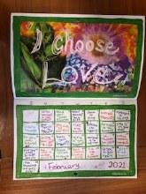 I Stand For Love Calendar 2021