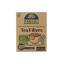 If you care unbleached Tea filters 100 filters