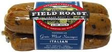 Italian, field Roast vegetarian sausages 12.95oz