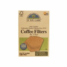 If you care #2 coffee filters 100 filters
