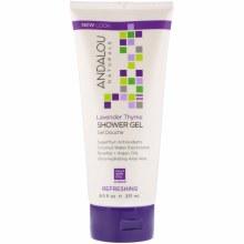 Andalou Lavender Thyme Shower Gel 32 oz