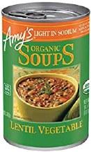 Amy's Low Sodium Lentil Vegetable Soup