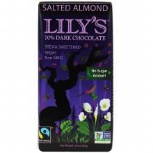Lily's Salted ALmond extra Dark Chocolate 2.80 oz