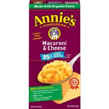 Annie's Macaroni & Cheese 25% Less Sodium 6oz